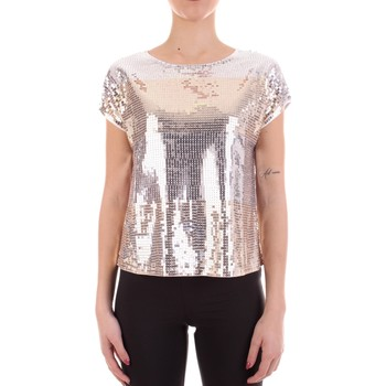 Textil Mulher T-Shirt mangas curtas Yes Zee T200-C400 Cinza