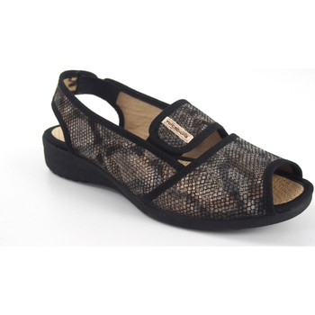 Sapatos Mulher Sandálias Vulca Bicha Pés delicados de senhora  1173 preto Multicolore