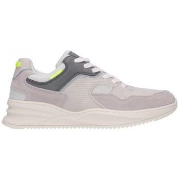 Sapatos Homem Sapatilhas Bullboxer ARKANSAS X956-X2-8093A Hombre Gris gris