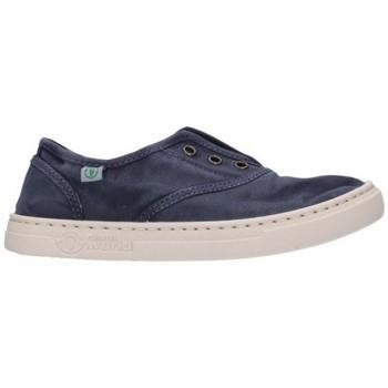 Sapatos Rapaz Sapatilhas Natural World 6470E 677 Niño Azul marino bleu