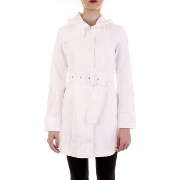 Textil Mulher Trench Yes Zee O404-SL00 Branco