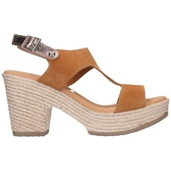 Sapatos Mulher Sandálias Oh My Sandals For Rin OH MY SANDALS 4700 SERR CAMEL COMBI Mujer Camel marron