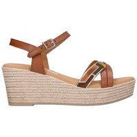 Sapatos Mulher Sandálias Oh My Sandals For Rin OH MY SANDALS 4703 ROBLE COMBI Mujer Cuero marron