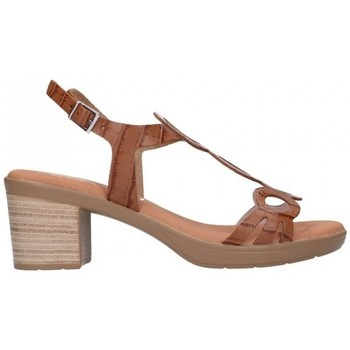 Sapatos Mulher Sandálias Oh My Sandals For Rin OH MY SANDALS 4655 BREDA ROBLE Mujer Cuero marron