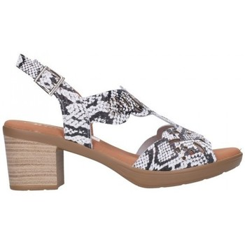 Sapatos Mulher Sandálias Oh My Sandals For Rin OH MY SANDALS 4689 REPTILE BLANCO Mujer Blanco blanc
