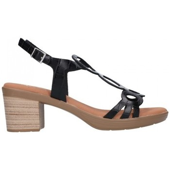 Sapatos Mulher Sandálias Oh My Sandals For Rin OH MY SANDALS 4655 BREDA NEGRO Mujer Negro noir