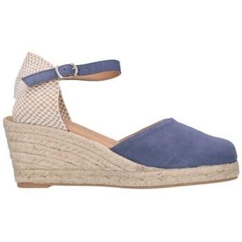 Sapatos Homem Alpargatas Paseart ROM A00 DENIM Mujer Celeste bleu