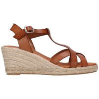 Sapatos Homem Alpargatas Paseart ROM/V108 VAQUETA CUERO Mujer Cuero marron