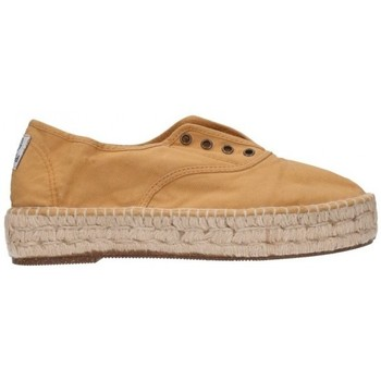 Sapatos Homem Alpargatas Natural World 687  553 Mujer Amarillo jaune