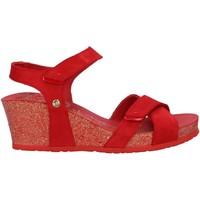 Sapatos Mulher Alpargatas Panama Jack VIERI BASICS B4 Rojo