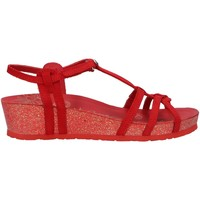 Sapatos Mulher Sandálias Panama Jack CHARO BASICS B1 Rojo