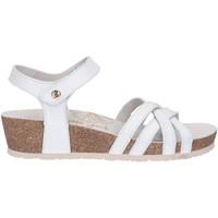 Sapatos Mulher Sandálias Panama Jack CHIA NACAR B1 Blanco