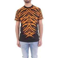 Textil Homem T-Shirt mangas curtas Versace B3GVB7DF-30377 Preto