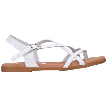Sapatos Mulher Sandálias Oh My Sandals For Rin OH MY SANDALS 4641 BREDA BLANCO Mujer Blanco blanc