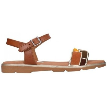 Sapatos Mulher Sandálias Oh My Sandals For Rin OH MY SANDALS 4654 ROBLE COMBI Mujer Cuero marron
