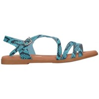 Sapatos Mulher Sandálias Oh My Sandals For Rin OH MY SANDALS 4640 TODO REPTILE CARIBE Mujer Azul bleu