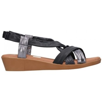 Sapatos Mulher Sandálias Oh My Sandals For Rin OH MY SANDALS 4670 AREN NEGRO COMBI Mujer Negro noir