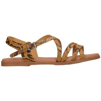 Sapatos Mulher Sandálias Oh My Sandals For Rin OH MY SANDALS 4640 TODO REPTILE MOSTAZA Mujer Amarillo jaune