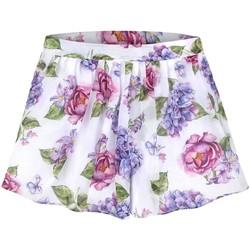 Textil Rapariga Shorts / Bermudas Mayoral Falda pantalon gasa estampada multicolor