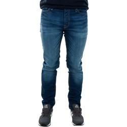 Textil Homem Calças de ganga slim Jack & Jones 12069489 JJITIM BLUE DENIM JOS919 Azul