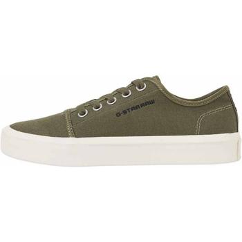 Sapatos Homem Sapatilhas de ténis G-Star Raw STREET II CANVAS MIX COMBAT Verde