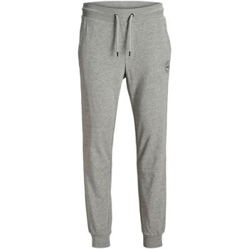 Textil Homem Calças de treino Jack & Jones 12165322 JJIGORDON JJSHARK GREY MELANGE Gris claro