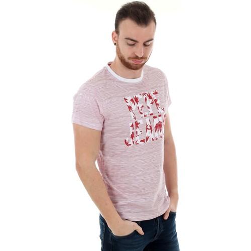 PM506352 JACK - 254 PEPPER RED  Pepe jeans  t-shirt mangas curtas  homem  rojo