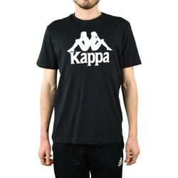 Textil Homem T-Shirt mangas curtas Kappa Caspar T-Shirt Noir