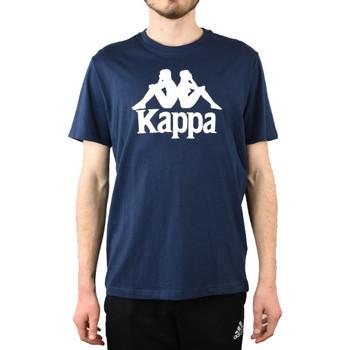 Textil Homem T-shirts e Pólos Kappa Caspar T-Shirt 303910-821 Bleu marine