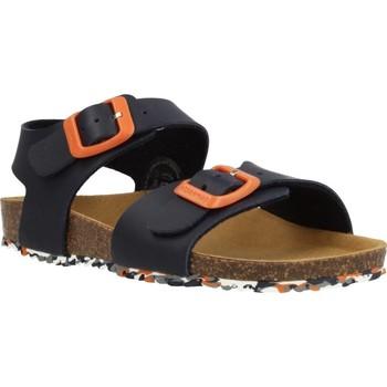 Sapatos Rapaz Sandálias Garvalin 202475 Azul