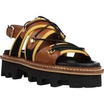 Sapatos Mulher Sandálias Elvio Zanon EL0901X Marron