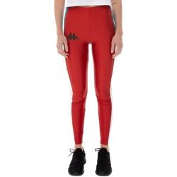 Textil Mulher Collants Kappa CARPIN vermelho