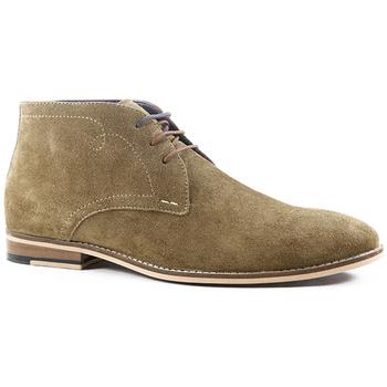 Sapatos Homem Botas baixas Parodi Shoes SIDONIO Castanho