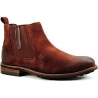 Sapatos Homem Botas baixas Parodi Shoes PAUL Castanho