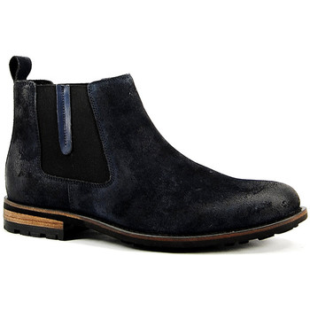 Sapatos Homem Botas baixas Parodi Shoes 59/PAUL.MARINO Blue