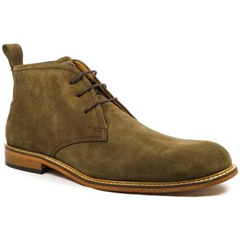 Sapatos Homem Botas baixas Parodi Shoes URANIO Cáqui