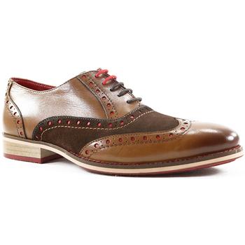 Sapatos Homem Richelieu Parodi Shoes NAPOLEONE Castanho