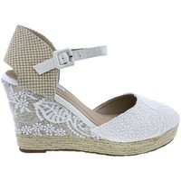 Sapatos Mulher Sandálias Mandarina Shoes Cuña Mandarina Leticia Blanco Branco