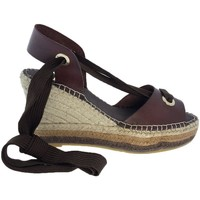 Sapatos Mulher Sandálias Vidorreta Cuña  15200 Marrón Castanho