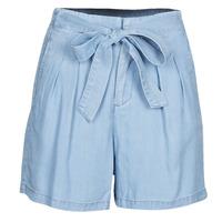 Textil Mulher Shorts / Bermudas Vero Moda VMMIA Azul