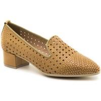 Sapatos Mulher Escarpim Moda Bella 11/1593 Bege
