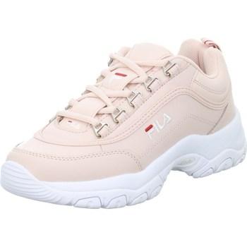 Sapatos Mulher Sapatilhas Fila Strada Low Wmn Cor-de-rosa
