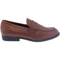Sapatos Homem Mocassins Fluchos Zapatos  F0824 Cuero Castanho