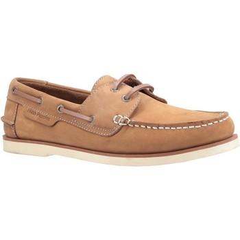 Sapatos Homem Sapato de vela Hush puppies  Castanha