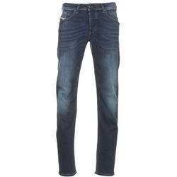 Textil Homem Calças Jeans Diesel BELHER Azul / Escuro
