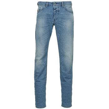 Textil Homem Calças Jeans Diesel BELHER Azul / Claro