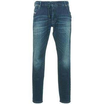 Textil Homem Calças Jeans Diesel KROOLEY Azul / Escuro
