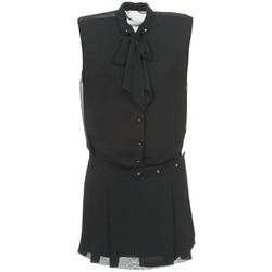 Textil Mulher Vestidos curtos Diesel D-NEDORA-A Preto