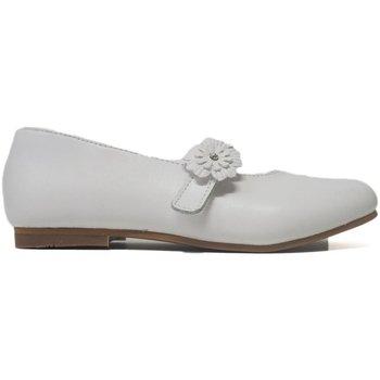 Sapatos Rapariga Sapatos & Richelieu Bubble Bobble Merceditas Comunión  A2399 Blanco Branco
