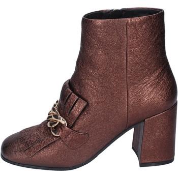 Sapatos Mulher Botins Elvio Zanon BM15 Castanho